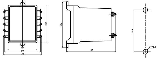 1 用途 JZS-145延时中间继电器作为辅助继电器,用于直流操作的保护回路中,以增加主保护继电器的触点数量和触点容量。 JZS-115,JZS-117型为延时动作继电器; JZS-127,JZS-136型为延时电压动作和电流保持继电器; JZS-145型为延时返回继电器。 2 原理及结构 本继电器由电子元件、CMOS集成数字电路组成作延时元件,及小型大功率继电器组成。 JZS-100系列继电器采用固定安装壳体;其外形及开孔尺寸附图。 3 主要技术数据 表1  表2  表3 4 内部接线图  5 外形及安