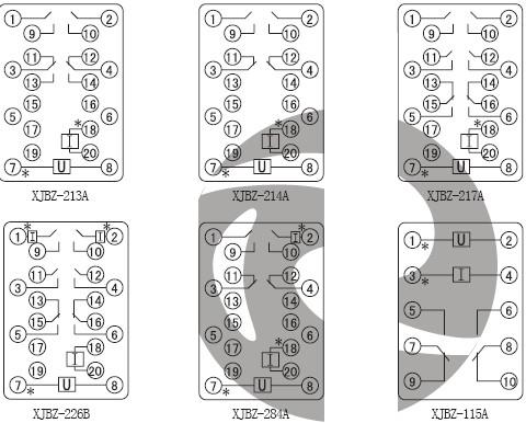 间继电器价格_接线图