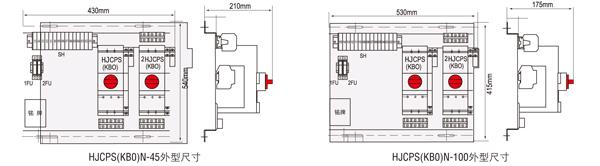 主电路参数及附件模块同基本型